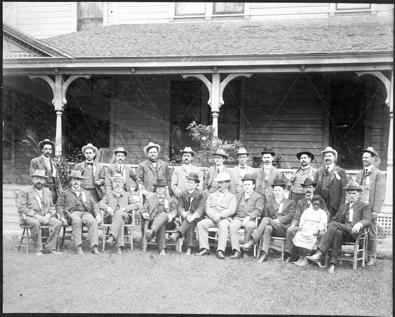 Men at Southern California Association Meeting