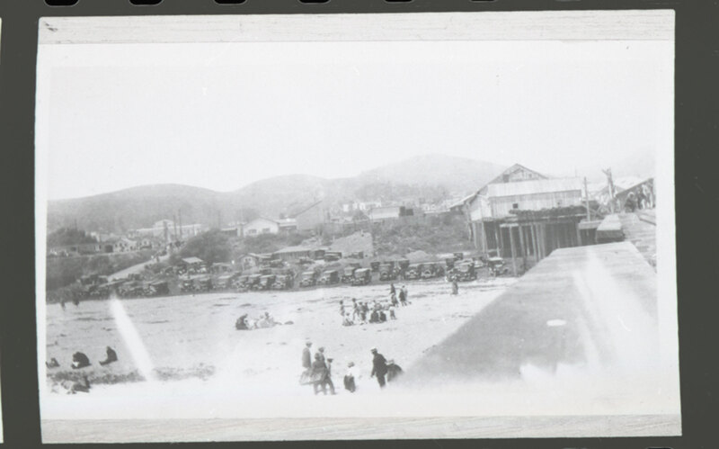 Ventura Pier Beach Scene