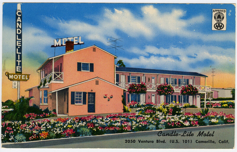 Candle-Lite Motel postcard