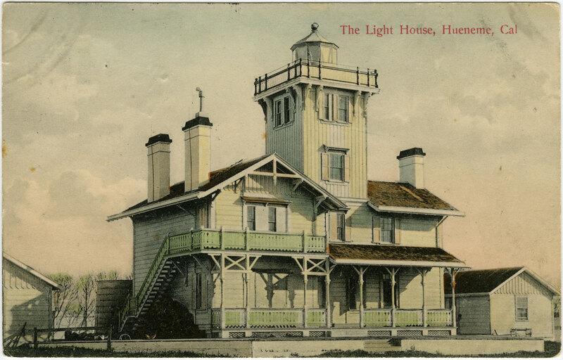 Hueneme Lighthouse Postcard