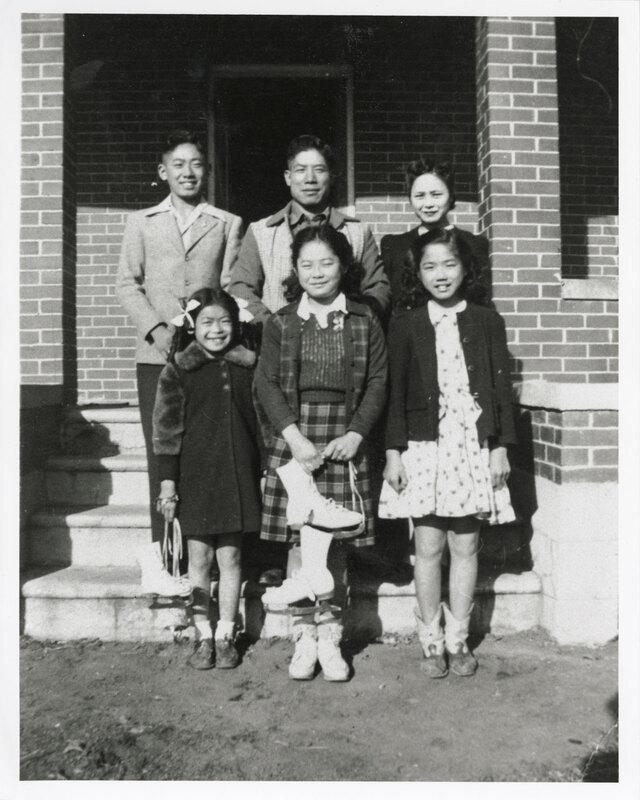 K. Inadomi Family Portrait