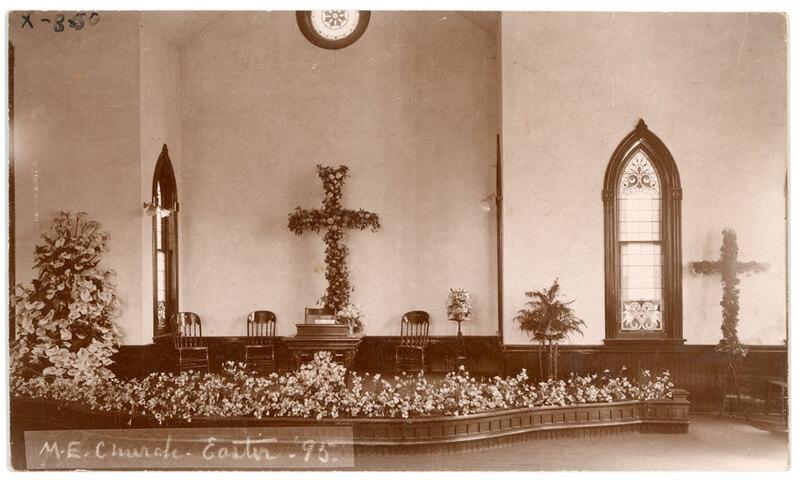 M.E. Church, Easter 1895