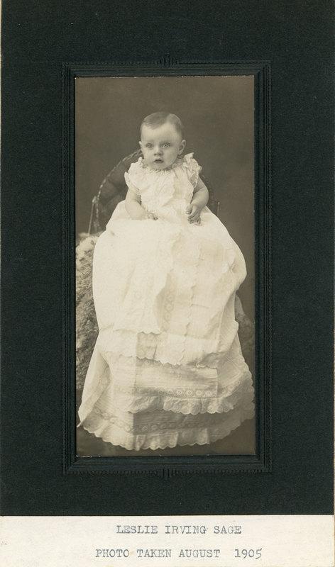 Baby Photo of Leslie Sage