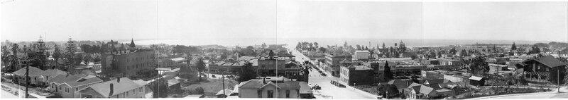 Downtown Ventura, California 1923