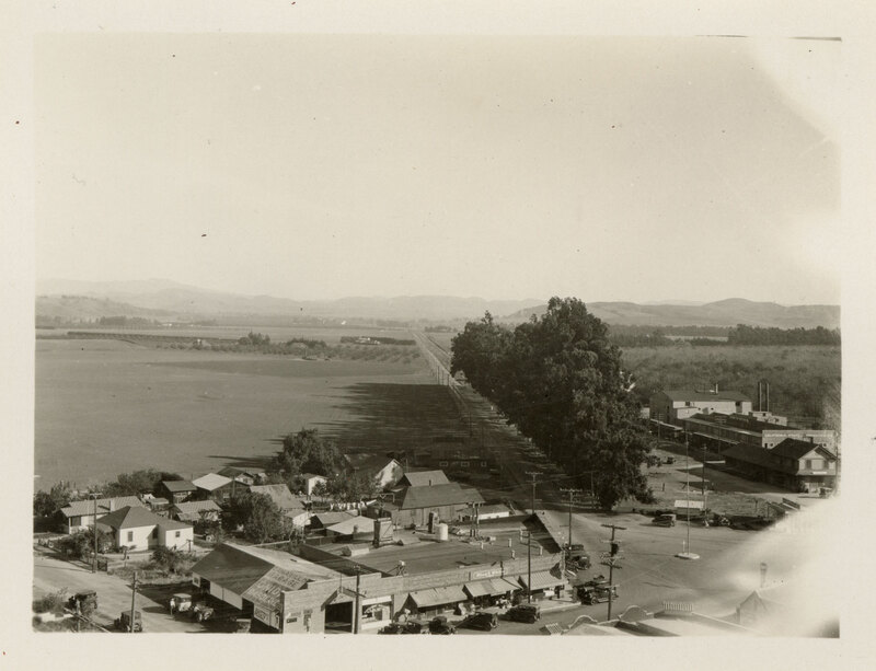 View of Somis From Camarillo Sepia