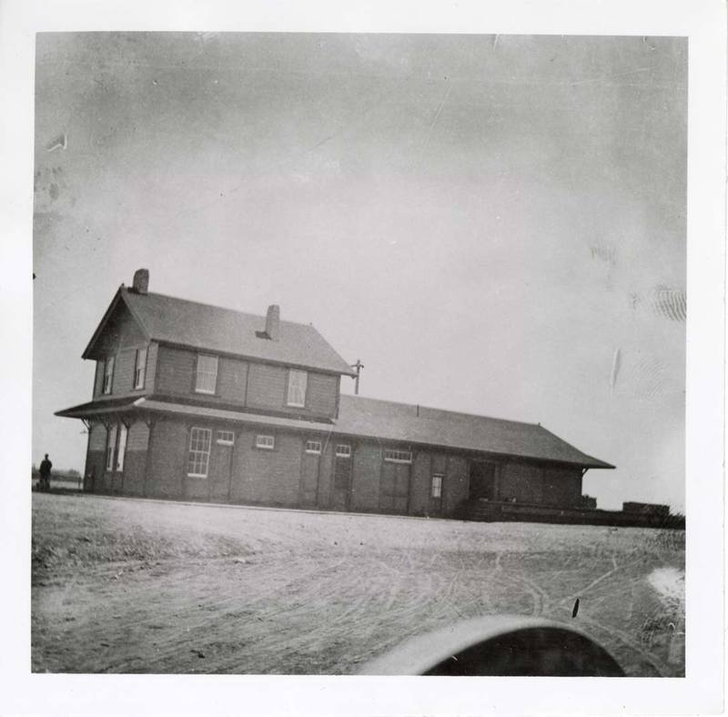 Southern Pacific Railroad Depot at Goleta