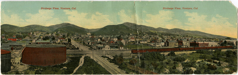 Panorama of Ventura Postcard