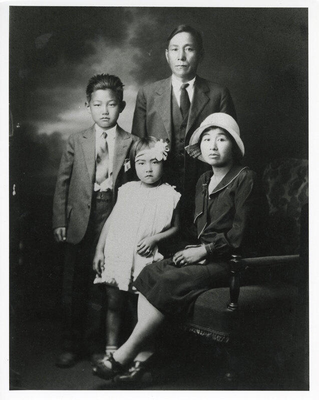 Fujita Family Portrait, 1928