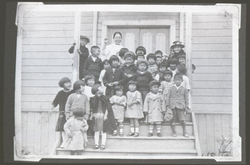 Japanese Methodist Church Children, 1925