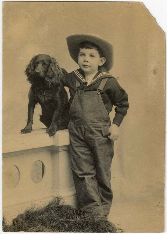 Portrait of Richard Bard as a child