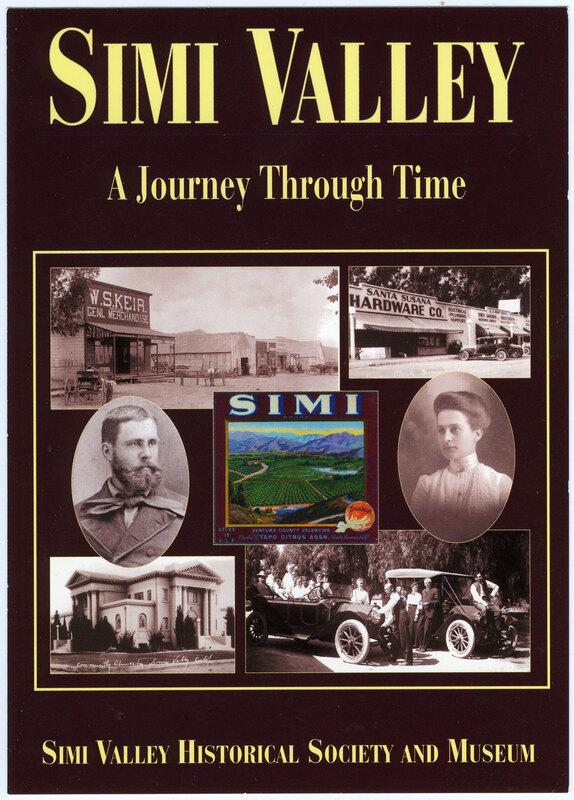 Simi Valley, A Journey Through Time 1997 postcard