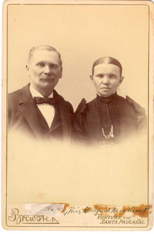 Mr. and Mrs. Godfrey Maulhardt