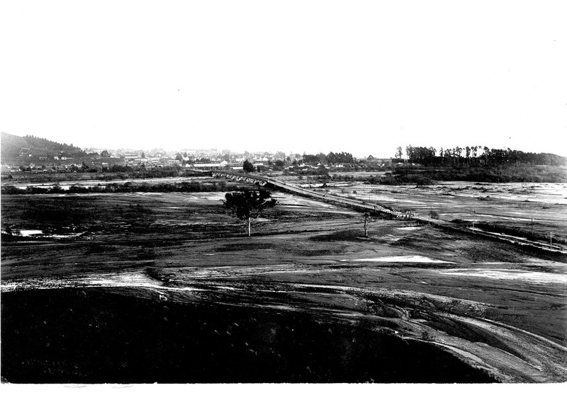 Ventura River Flood Damage, 1914