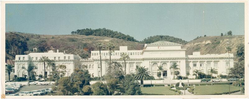 Ventura County Courthouse Exterior, 1965