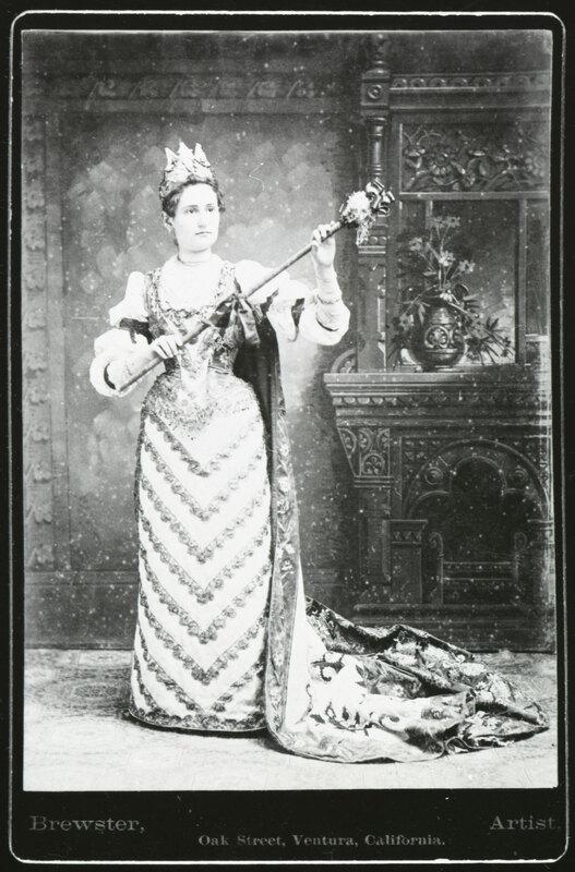 Miss Perkins as Columbia