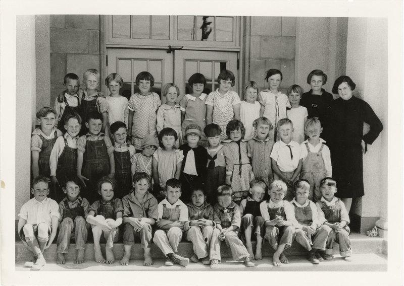 Briggs School Class Picture