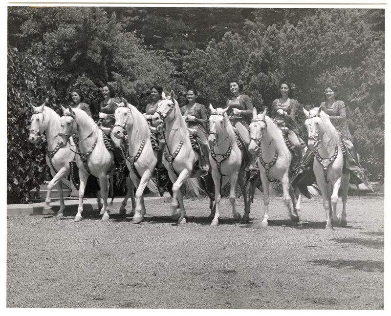 Camarillo Ladies Riding Horseback