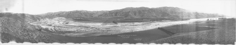 View of Flooded Area East of Camulos