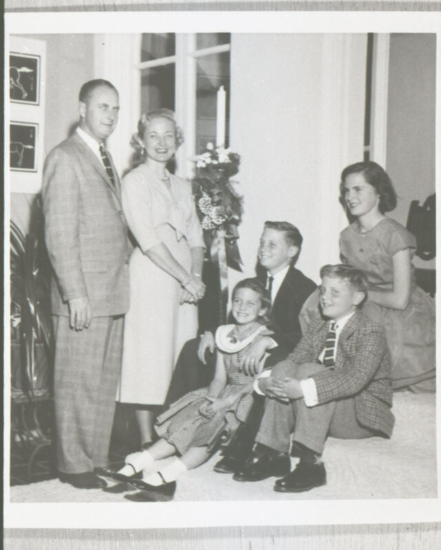 Robert and Katherine Haley with Their Children