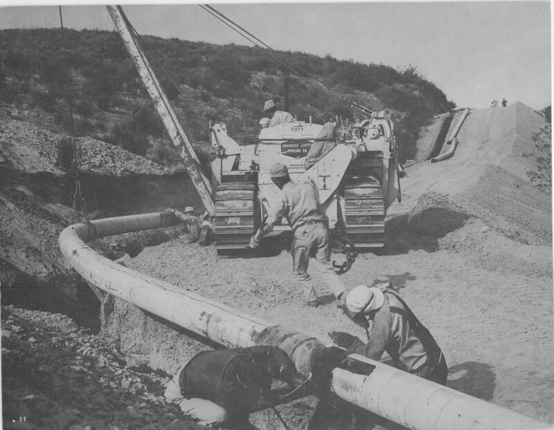 Laying Oil Pipeline