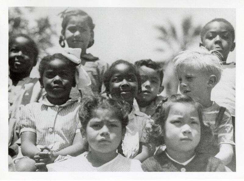 Group Photo of Kindergarten Students at May Henning School, Ventura