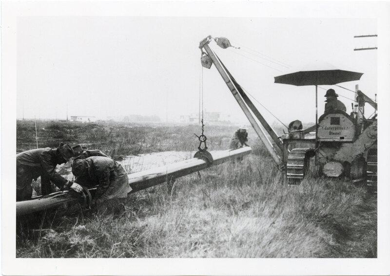 Pipeline Construction Along Pierpont Boulevard