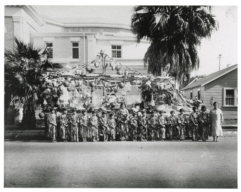 Buddhist Church of Oxnard Parade Float