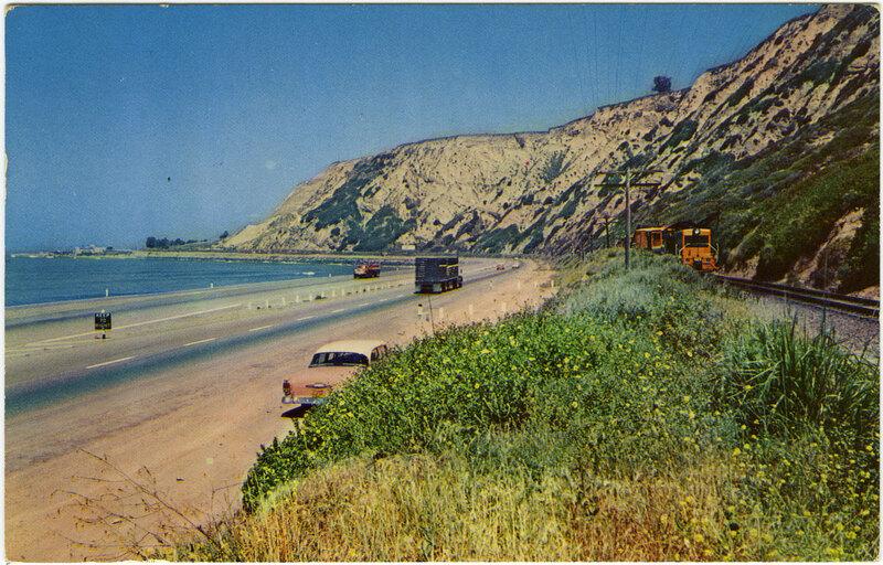 Rincon Point postcard