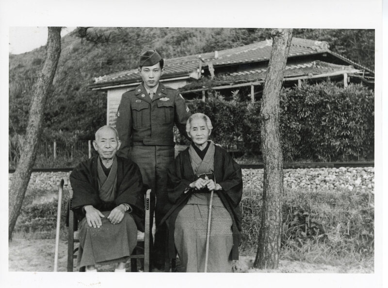 John Takasugi With His Grandparents
