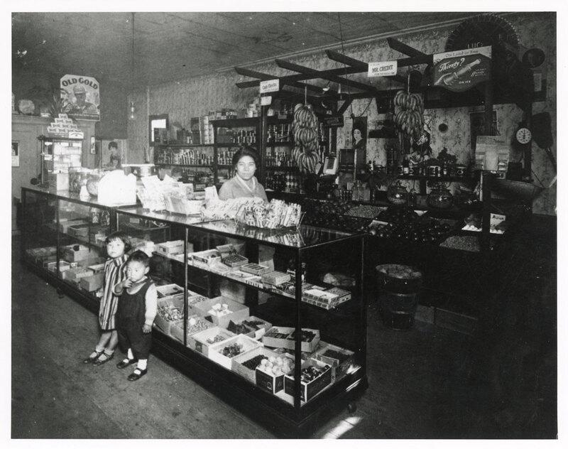Interior of T. Moriwaki Fruit Store