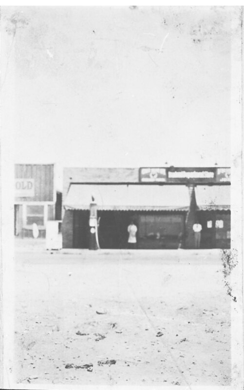 Gas Pump at Inadomi Department Store