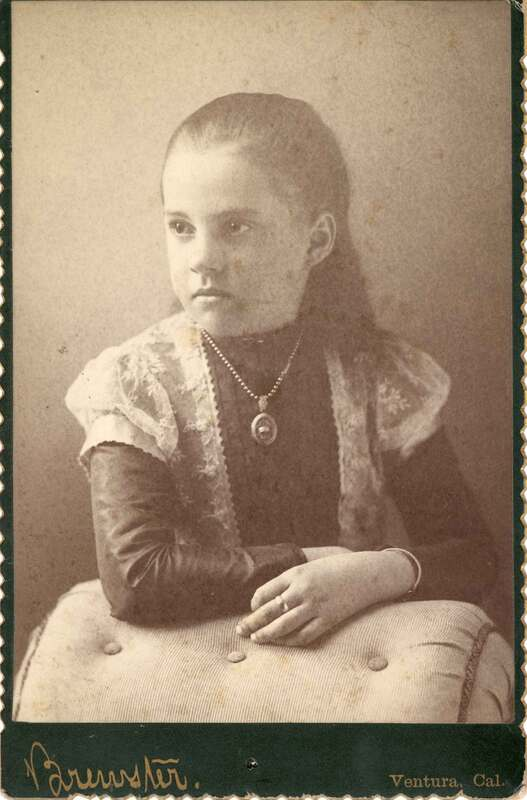 Pansy Augusta Brewster, Age 10
