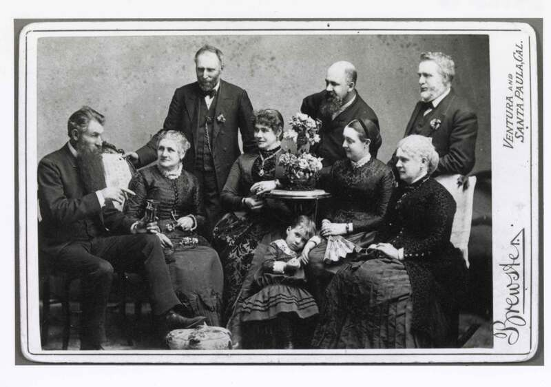 J. C. Brewster and Friends and Family