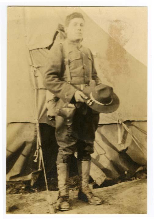 Frank Alves in uniform
