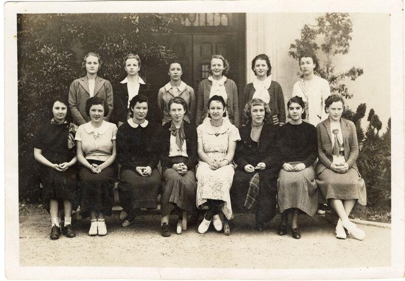 St. Catherine's High School Class of 1933-14