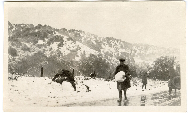 Playing in the Snow in Ventura