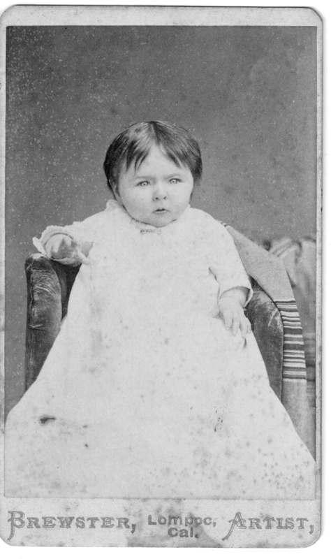Edna H. Moody Baby Portrait