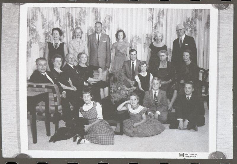 Hoffman Family Christmas Group Photo