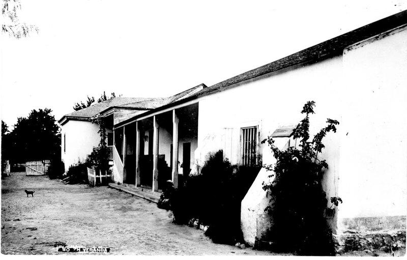 Del Valle home Rancho Camulos