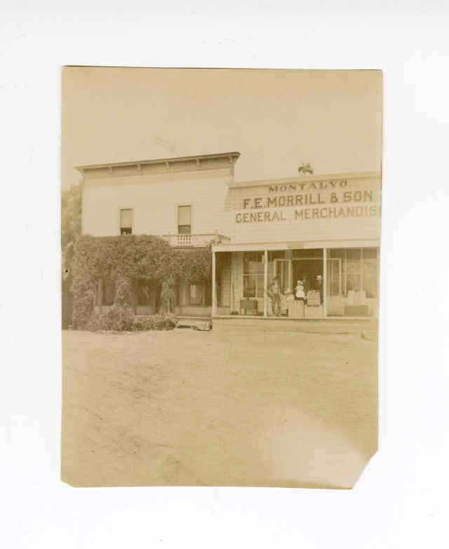 F.E. Morrill & Sons Groceries and Hotel Montalvo