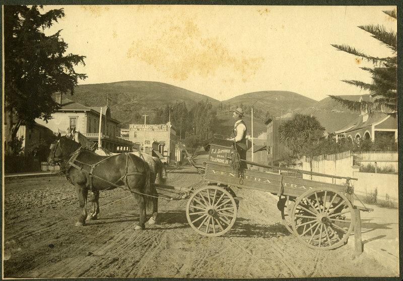 William Quinlan on Transport Wagon