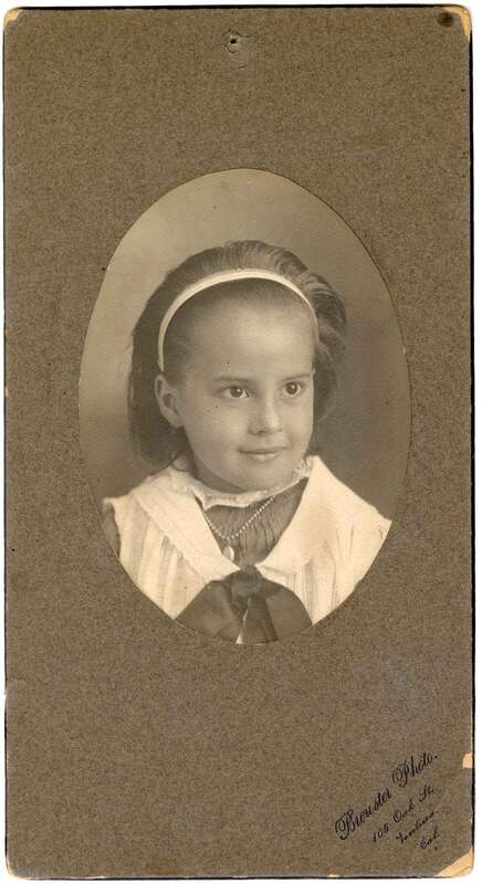 Pansy Augusta Brewster, Age 7