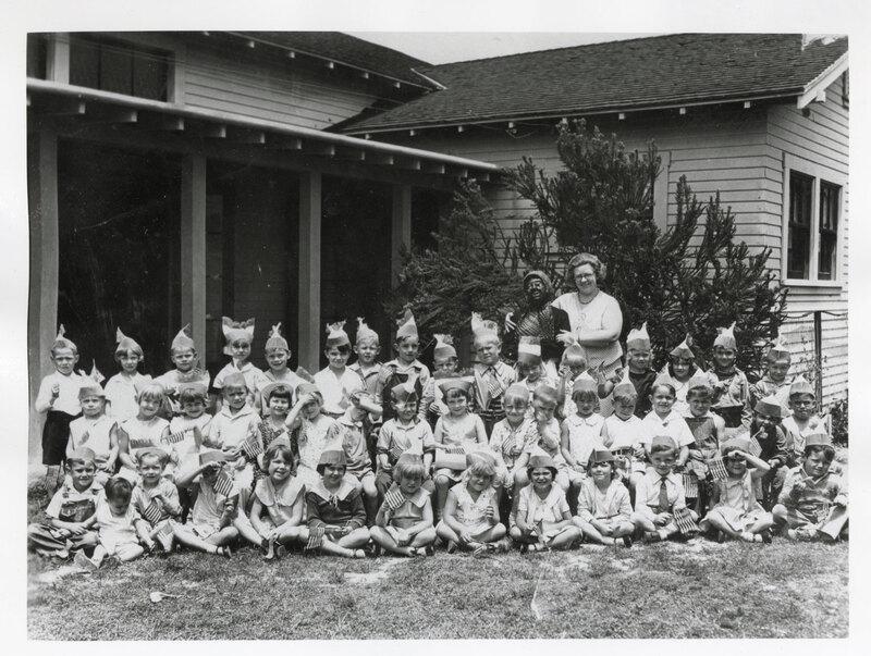 Group Photo of Children at Santa Clara Street Kindergarten