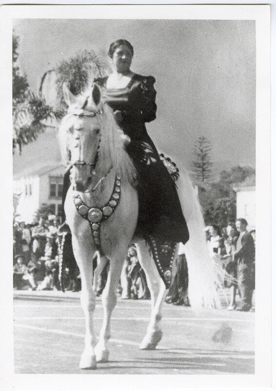 Carmen Camarillo Riding Duke