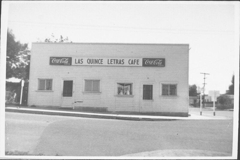 Las Quince Letras Cafe, Santa Paula