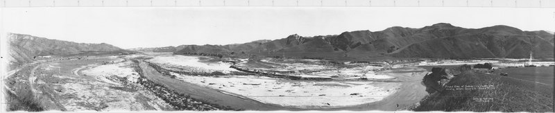 Flooded Area at Ventura and Los Angeles County Line, 1928