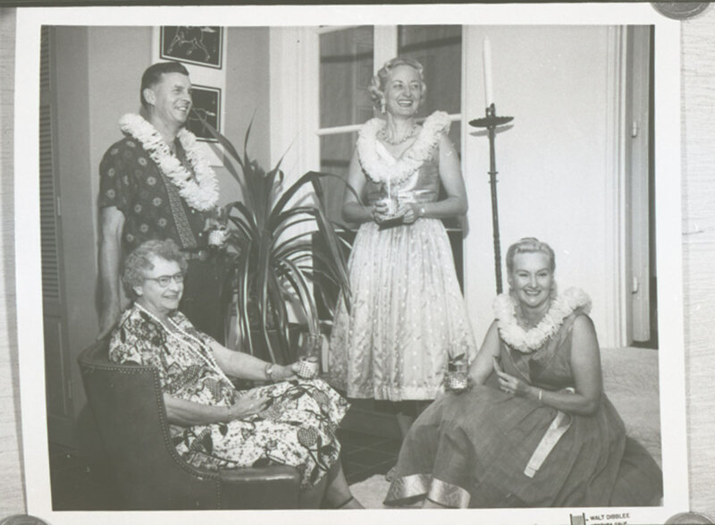 Group Photo, Edith Hoffman and Katherine Haley with a Man and Woman