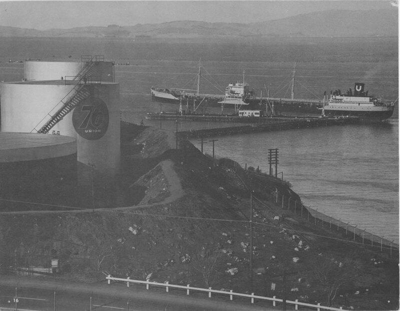 Ship Loading Oil