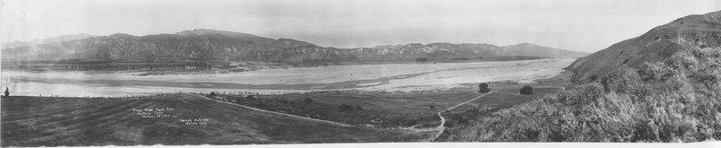 Flood Area Near Piru, 1928