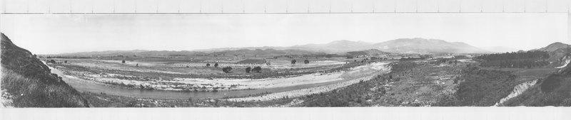 Flooded Area West of Santa Paula, 1928
